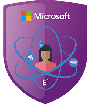 badges and points microsoft in education
