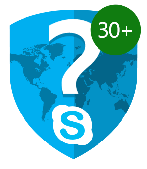 Mystery Skype 30 + Countries