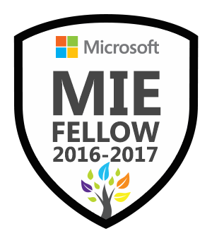Microsoft Innovative Educator Fellow 2016-2017